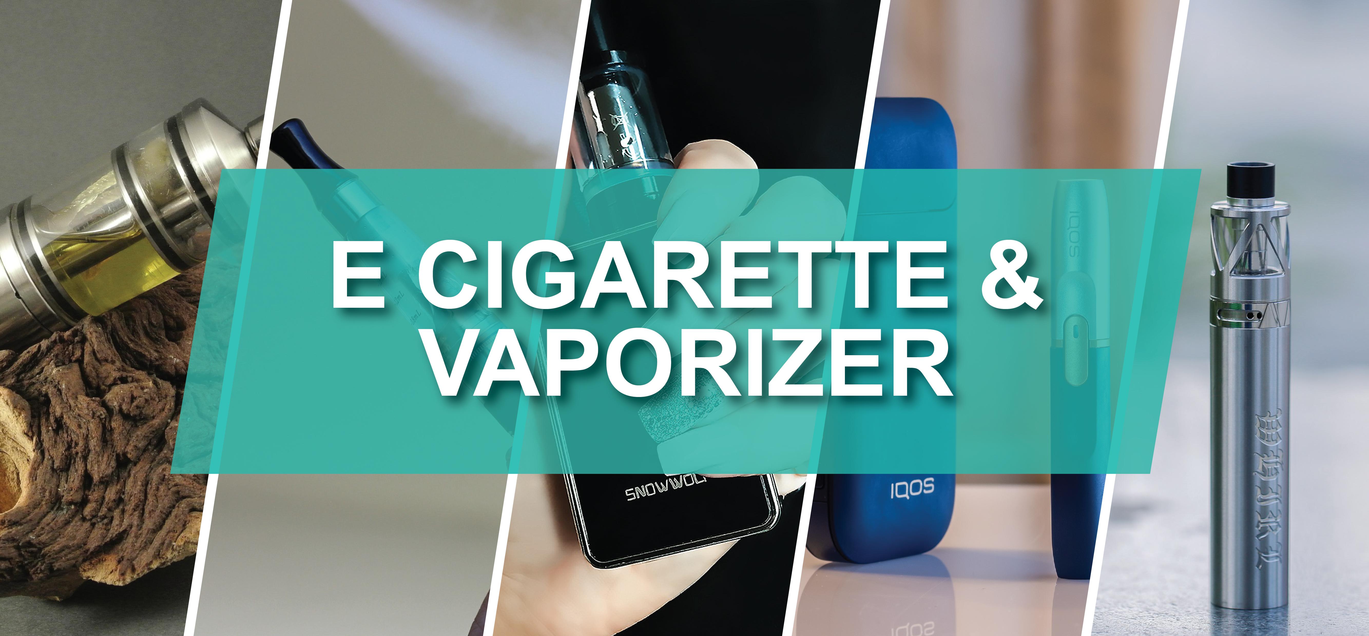 E Cigarette & Vaporizer Market