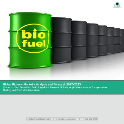 Global Biofuels Market - Analysis and Forecast: 2017-2023 (Focus on- First Generation Solid, Liquid and Gaseous Biofuels, Applications such as Transportation, Heating and Electricity Generation)