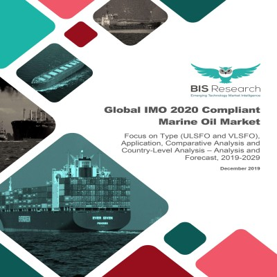 Global IMO 2020 Compliant Marine Oil Market – Analysis and Forecast, 2019-2029: Focus on Type (ULSFO and VLSFO), Application, Comparative Analysis and Country-Level Analysis