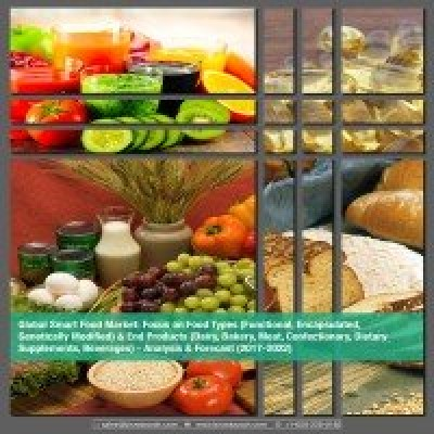 Global Smart Food Market - Analysis & Forecast (2017-2022): Focus on Food Types (Functional, Encapsulated, Genetically Modified) & End Products (Dairy, Bakery, Meat, Confectionary, Dietary Supplements, Beverages)