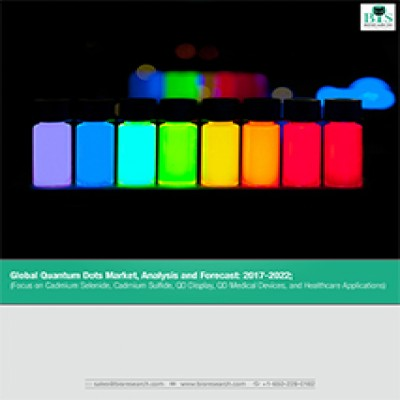 Global Quantum Dots Market, Analysis and Forecast: 2017-2022; (Focus on Cadmium Selenide, Cadmium Sulfide, QD Display, QD Medical Devices, and Healthcare Applications)