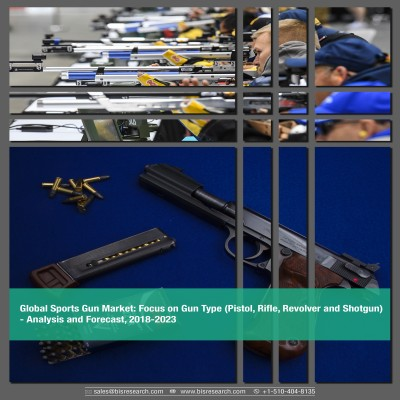 Global Sports Gun Market - Analysis and Forecast, 2018-2023: Focus on Gun Type (Pistol, Rifle, Revolver and Shotgun)