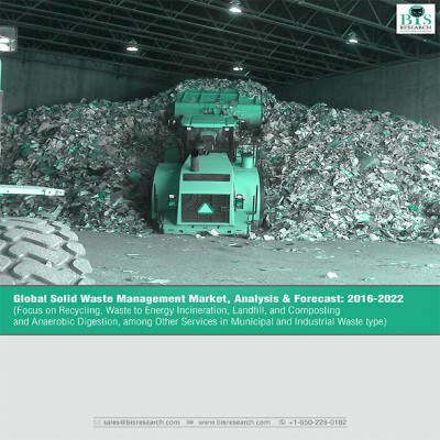 Global Solid Waste Management Market - Analysis and Forecast (2016-2022) (Focus on Recycling, Waste to Energy Incineration, Landfill, and Composting and Anaerobic Digestion, among other services in Municipal and Industrial Waste type)