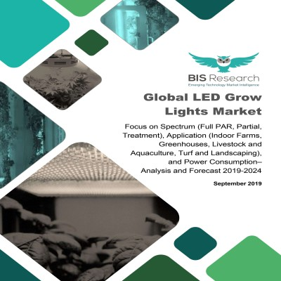 Global LED Grow Lights Market – Analysis and Forecast, 2019-2024: Focus on Spectrum (Full PAR, Partial, Treatment), Application (Indoor Farms, Greenhouses, Livestock and Aquaculture, Turf and Landscaping), and Power Consumption