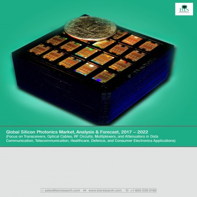 Global Silicon Photonics Market, Analysis & Forecast, 2017-2022 (Focus on Transceivers, Optical Cables, RF Circuits, Multiplexers, and Attenuators in Data Communication, Telecommunication, Healthcare, Defence, and Consumer Electronics Applications)