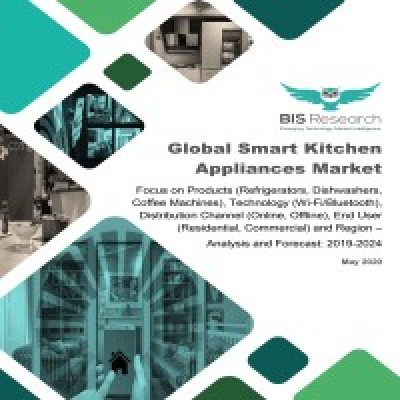 Global Smart Kitchen Appliances Market – Analysis and Forecast, 2019-2024: Focus on Products (Refrigerators, Dishwashers, Coffee Machines), Technology (Wi-Fi/Bluetooth), Distribution Channel (Online, Offline), End User (Residential, Commercial) and Region