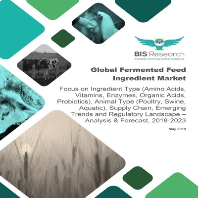 Global Fermented Feed Ingredient Market – Analysis & Forecast, 2018-2023: Focus on Ingredient Type (Amino Acids, Vitamins, Enzymes, Organic Acids, Probiotics), Animal Type (Poultry, Swine, Aquatic),  Supply Chain, Emerging Trends and Regulatory Landscape