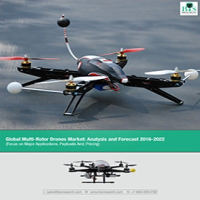 Global Multi-Rotor Drone Market - Analysis and Forecast 2016-2022: (Focus on Major Applications Payloads And, Pricing)