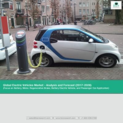 Global Electric Vehicles Market, Analysis & Forecast – 2017-2026 (Focus on Battery, Motor Regenerative Brake, Battery Electric Vehicle, and Passenger Car Application)