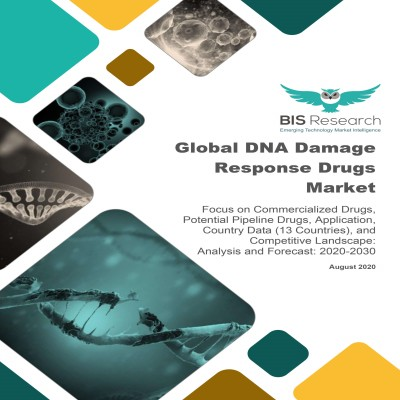 Global DNA Damage Response Drugs Market: Focus on Commercialized Drugs, Potential Pipeline Drugs, Application, Country Data (13 Countries), and Competitive Landscape - Analysis and Forecast, 2020-2030