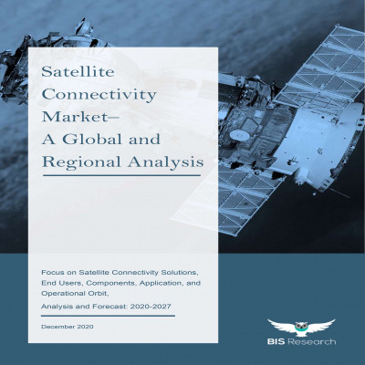 Satellite Connectivity Market – A Global and Regional Analysis: Focus on Satellite Connectivity Solutions, End Users, Components, Application, and Operational Orbit - Analysis and Forecast, 2020-2027