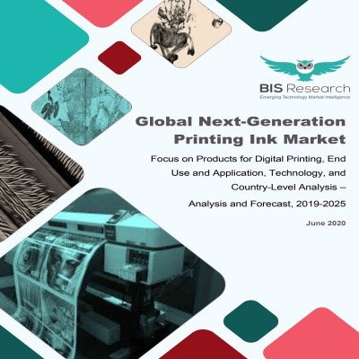 Global Next-Generation Printing Ink Market: Focus on Products for Digital Printing, End Use and Application, Technology, and Country-Level Analysis –  Analysis and Forecast, 2019-2025