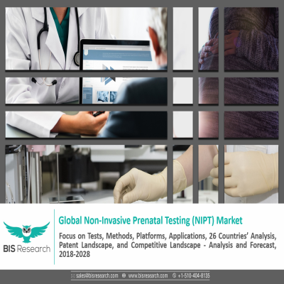 Global Non-Invasive Prenatal Testing (NIPT) Market: Focus on Tests, Methods, Platforms, Applications, 26 Countries' Analysis, Patent Landscape, and Competitive Landscape - Analysis and Forecast, 2018-2028