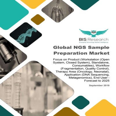 Global NGS Sample Preparation Market: Focus on Product (Workstation (Open System, Closed System), Standalone, Consumables), Workflow (Fragmentation, Quality Control), Therapy Area (Oncology, Neonatal), Application (DNA Sequencing, Metagenomics), End User - Forecast to 2025