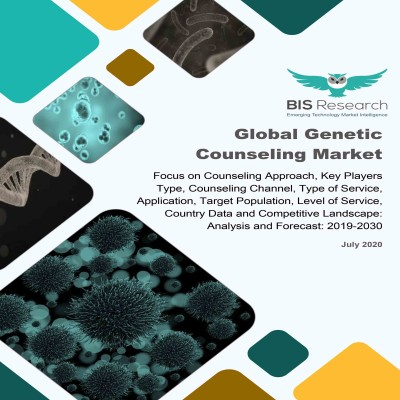 Global Genetic Counseling Market: Focus on Counseling Approach, Key Players Type, Counseling Channel, Type of Service, Application, Target Population, Level of Service, Country Data and Competitive Landscape - Analysis and Forecast, 2019-2030