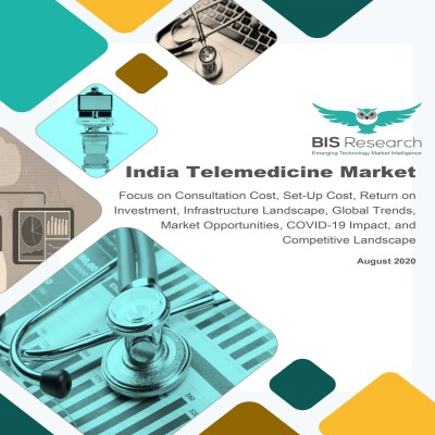 India Telemedicine Market: Focus on Consultation Cost, Set-Up Cost, Return on Investment, Infrastructure Landscape, Global Trends, Market Opportunities, COVID-19 Impact, and Competitive Landscape