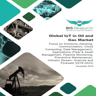 Global IoT in Oil and Gas Market: Focus on Solutions (Sensing, Communication, Cloud Computing, Data Management), Applications (Fleet & Asset Management, Pipeline Monitoring, Preventive Maintenance), Industry Stream- Analysis and Forecast (2018-2023)