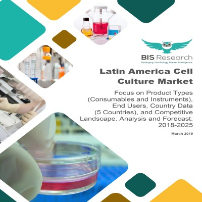 Latin America Cell Culture Market - Analysis and Forecast, 2018-2025: Focus on Product Types (Consumables and Instruments), End Users, Country Data (5 Countries), and Competitive Landscape