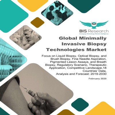 Global Minimally Invasive Biopsy Technologies Market: Focus on Liquid Biopsy, Optical Biopsy, and Brush Biopsy, Fine Needle Aspiration, Pigmented Lesion Assays, and Breath Biopsy, Regulatory Scenario, Therapeutic Application, Competitive Landscape,18 Countries' Data - Analysis and Forecast, 2019-2030