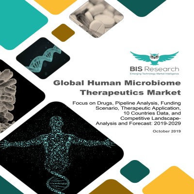 Global Human Microbiome Therapeutics Market: Focus on Drugs, Pipeline Analysis, Funding Scenario, Therapeutic Application, 10 Countries Data, and Competitive Landscape – Analysis and Forecast, 2019-2029