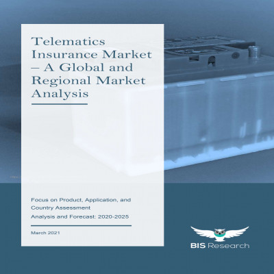 Telematics Insurance Market – A Global and Regional Market Analysis: Focus on Product, Application, and Country Assessment - Analysis and Forecast, 2020-2025