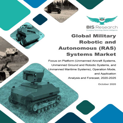 Global Military Robotic and Autonomous (RAS) Systems Market: Focus on Platform (Unmanned Aircraft Systems, Unmanned Ground and Robotic Systems, and Unmanned Maritime Systems), Operation Mode, and Application - Analysis and Forecast, 2020-2025