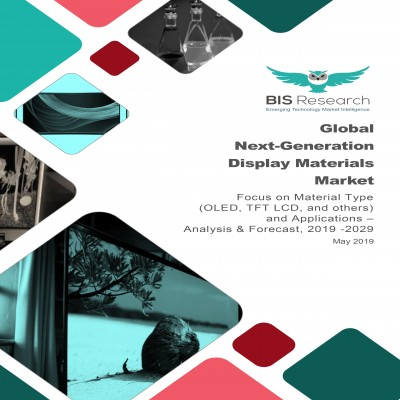 Global Next-Generation Display Materials Market – Analysis and Forecast, 2019 -2029: Focus on Material Type (OLED, TFT LCD, and others) and Applications