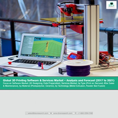 Global 3D Printing Software & Services Market – Analysis and Forecast (2017 to 2021): Focus on Software Market (3D Designing, Data Preparation), Services Market, by Type (Print on Demand, After Sales & Maintenance), by Material (Photopolymer, Ceramic), by Technology (Metal Extrusion, Power Bed Fusion)