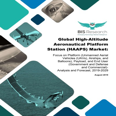 Global High-Altitude Aeronautical Platform Station (HAAPS) Market - Analysis and Forecast, 2019-2029:Focus on Platform (Unmanned Aerial Vehicles (UAVs), Airships, and Balloons), Payload, and End User(Government and Defense and Commercial)