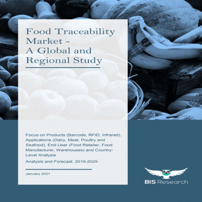 Food Traceability Market - A Global and Regional Study: Focus on Products (Barcode, RFID, Infrared), Applications (Dairy, Meat, Poultry and Seafood), End-User (Food Retailer, Food Manufacturer, Warehouses) and Country-Level Analysis - Analysis and Forecast, 2019-2025