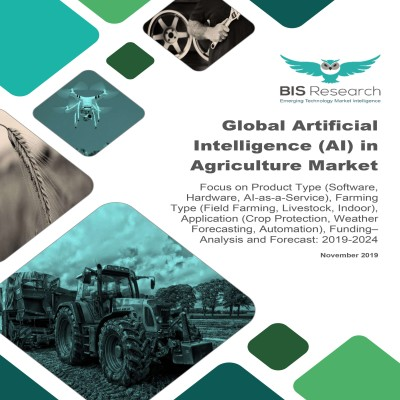 Global Artificial Intelligence (AI) in Agriculture Market – Analysis and Forecast, 2019-2024: Focus on Product Type (Software, Hardware, AI-as-a-Service), Farming Type (Field Farming, Livestock, Indoor), Application (Crop Protection, Weather Forecasting, Automation), Funding