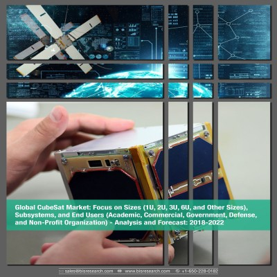 Global CubeSat Market - Analysis and Forecast, 2018-2022: Focus on Sizes (1U, 2U, 3U, 6U, and Other Sizes),Subsystems, and End Users (Academic, Commercial, Government, Defense,and Non-Profit Organization)