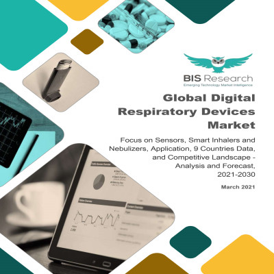 Global Digital Respiratory Devices Market: Focus on Sensors, Smart Inhalers and Nebulizers, Application, 9 Countries Data, and Competitive Landscape - Analysis and Forecast, 2021-2030