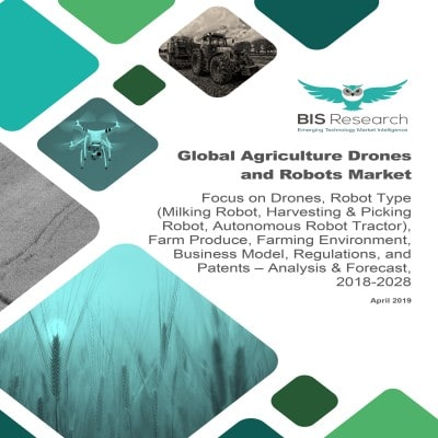 Global Agriculture Drones and Robots Market – Analysis & Forecast, 2018-2028: Focus on Drones, Robot Type (Milking Robot, Harvesting & Picking Robot, Autonomous Robot Tractor), Farm Produce, Farming Environment, Business Model, Regulations, and Patents