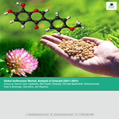 Global Isoflavones Market - Analysis & Forecast (2017-2021): ((Focus On Source Type- Soybeans, Red Clover, Chickpea, End Use Application- Nutraceuticals, Food & Beverage, Cosmetics, And Regions))