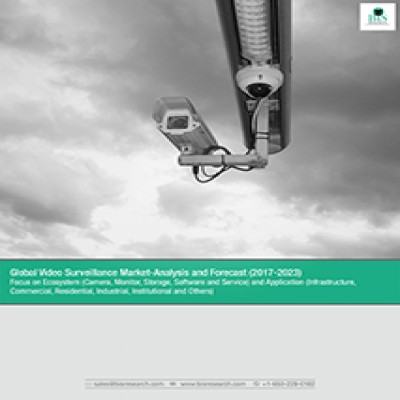 Global Video Surveillance Market Analysis and Forecast (2017-2023) : Focus on Ecosystem (Camera, Monitor, Storage, Software and Service) and Application (Infrastructure, Commercial, Residential, Industrial, Institutional and Others)