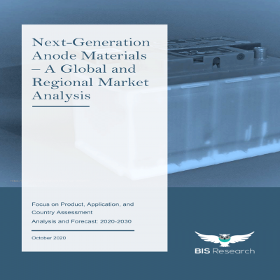 Next-Generation Anode Materials – A Global and Regional Market Analysis: Focus on Product, Application, and Country Assessment - Analysis and Forecast, 2020-2030