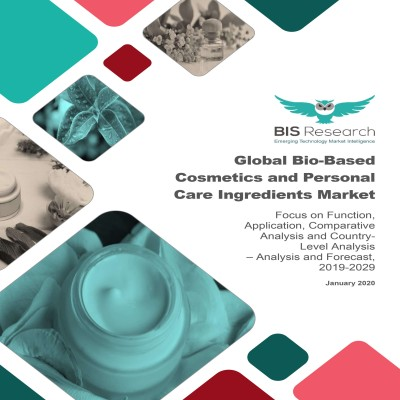 Global Bio-Based Cosmetics and Personal Care Ingredients Market – Analysis and Forecast, 2019-2029: Focus on Function, Application, Comparative Analysis and Country-Level Analysis
