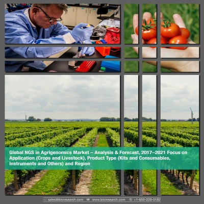 Global NGS In Agrigenomics Market - Analysis & Forecast 2017–2021: Focus on Application (Crops and Livestock), Product Type (Kits and Consumables, Instruments and Others) and Region