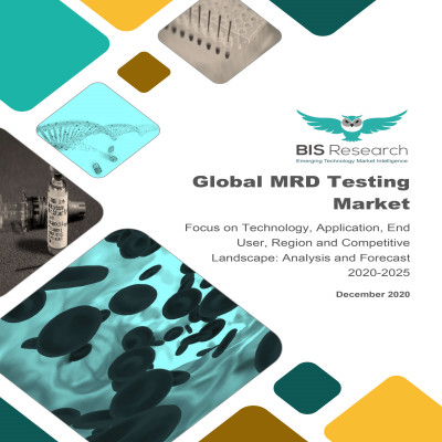 Global MRD Testing Market: Focus on Technology, Application, End User, Region and Competitive Landscape - Analysis and Forecast, 2020-2025