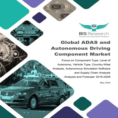 Global ADAS and Autonomous Driving Component Market: Focus on Component Type, Level of Autonomy, Vehicle Type, Country-Wise Analysis, Autonomous Simulation Software and Supply Chain Analysis - Analysis and Forecast, 2019-2029