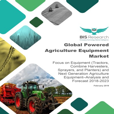 Global Powered Agriculture Equipment Market - Analysis and Forecast 2018-2023: Focus on Equipment (Tractors, Combine Harvesters, Sprayers, and Planters) and Next Generation Agriculture Equipment