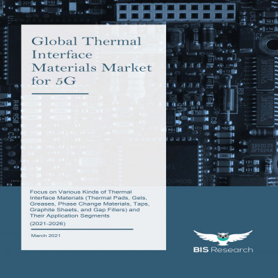 Global Thermal Interface Materials Market for 5G: Focus on Various Kinds of Thermal Interface Materials (Thermal Pads, Gels, Greases, Phase Change Materials, Taps, Graphite Sheets, and Gap Fillers) and Their Application Segments (2021-2026)