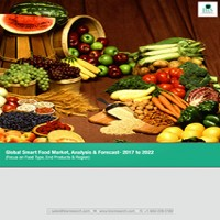 Global Smart Food Market, Analysis & Forecast- 2017 to 2022 (Focus on Food Type, End Products & Region)