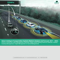 Global Intelligent Transportation Systems Market, Analysis and Forecast: 2016 – 2022; (Focus on Advanced Traffic Management, Electronic Tolling, Smart Parking, Revenue Collection, Railway Crossing Management, Freight Management, & Tunnel Management)