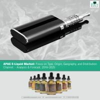 APAC E-Liquid Market